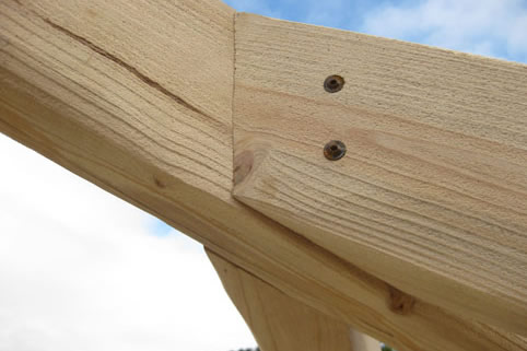 Precision engineered roof trusses